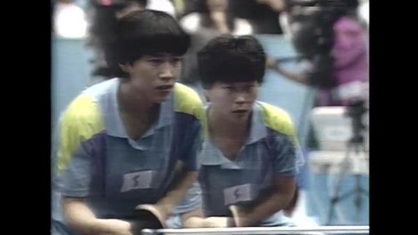 1991년 지바탁구세계선수권 KOREA 단일팀 출전_1