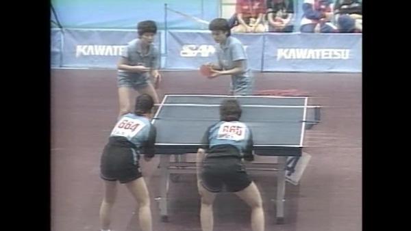 1991년 지바탁구세계선수권 KOREA 단일팀 출전_3