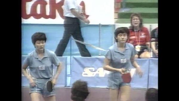 1991년 지바탁구세계선수권 KOREA 단일팀 출전_4