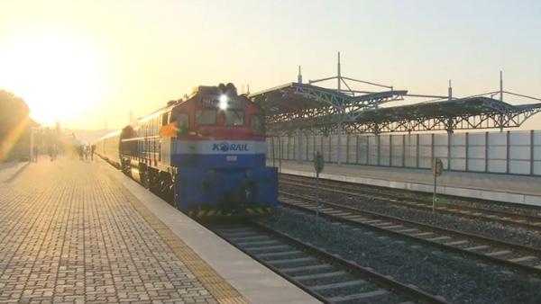 경의선동해선 철도도로 연결 및 현대화착공식_1